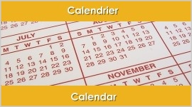 Calendrier | Calendar