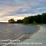 Coucher du soleil bord de la plage Aylmer Quebec | Sunset Beach Aylmer Quebec